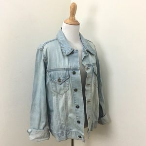 Mono B Denim Trucker Jacket